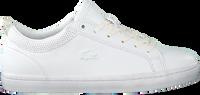 Witte LACOSTE Lage sneakers STRAIGHTSET 120 - medium