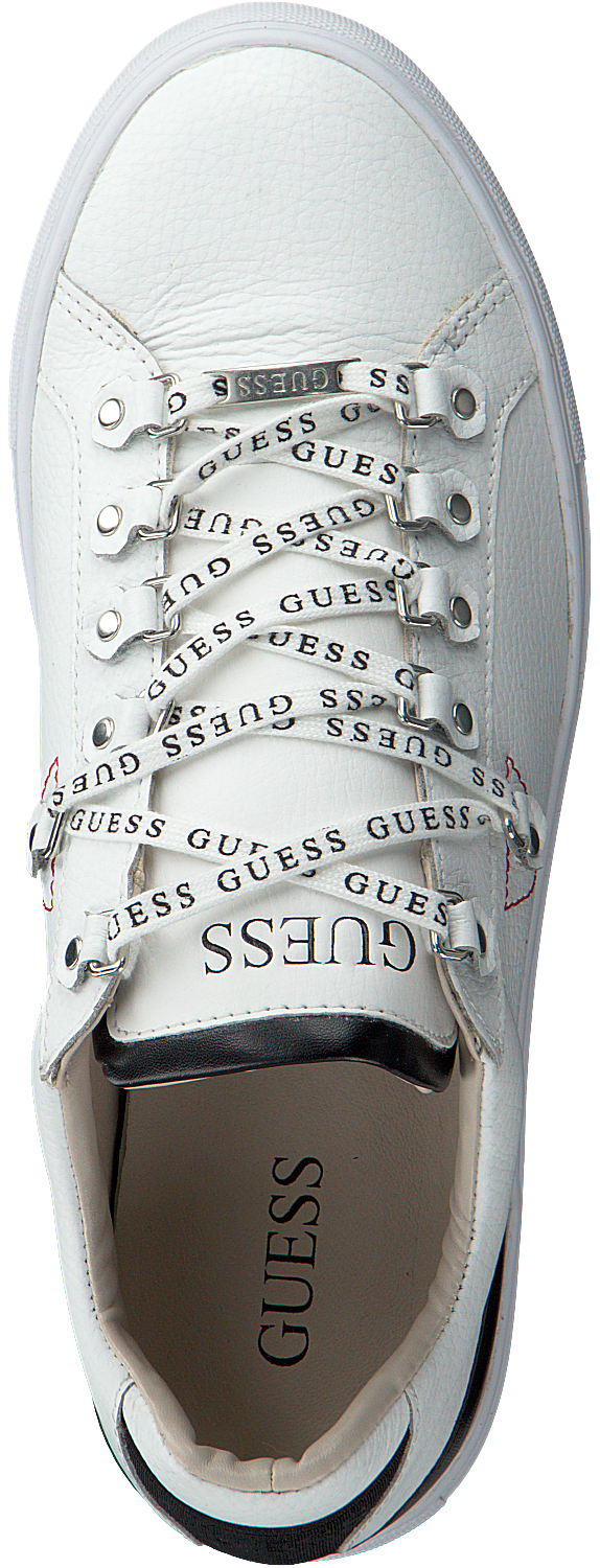Witte GUESS Sneakers BARRY Omoda.nl