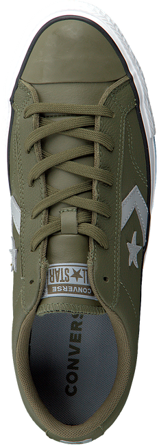 Groene CONVERSE Sneakers STAR PLAYER OX - large