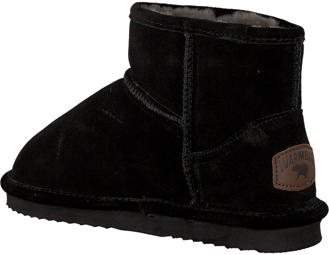 Zwarte WARMBAT Pantoffels WALLABY WOMEN SUEDE - large