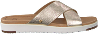 Gouden UGG Slippers KARI METALLIC  - medium