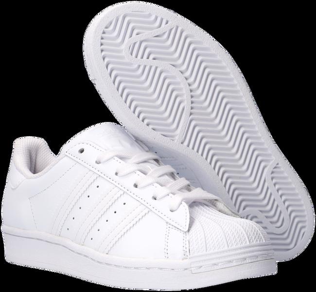 Witte ADIDAS Lage sneakers SUPERSTAR J  - large