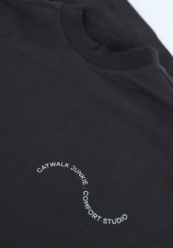 Zwarte CATWALK JUNKIE Sweater LS THE WAVE - larger