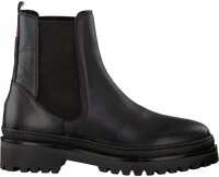 Zwarte TOMMY HILFIGER Chelsea boots RUGGED CLASSIC CHELSEA - medium