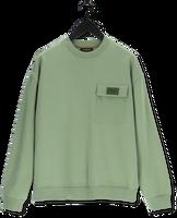 Groene SCOTCH & SODA Sweater 163931 - LOOSE-FIT FELPA CREWN