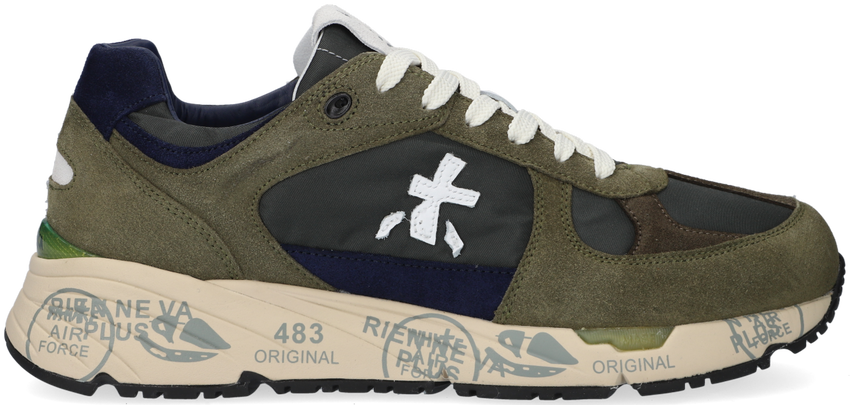 Groene PREMIATA Lage sneakers MASE  - larger