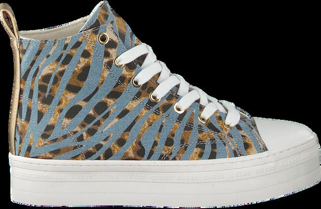 Blauwe GUESS Hoge sneaker BOKAN  - large