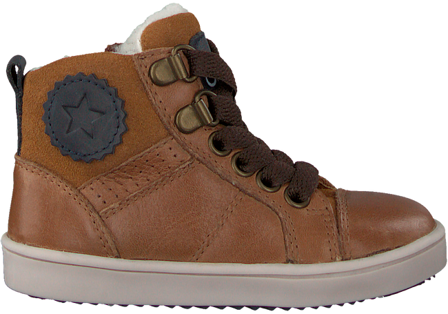 Cognac OMODA Hoge sneaker OM120717  - large
