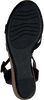 Zwarte UNISA Sandalen MONTEA  - small