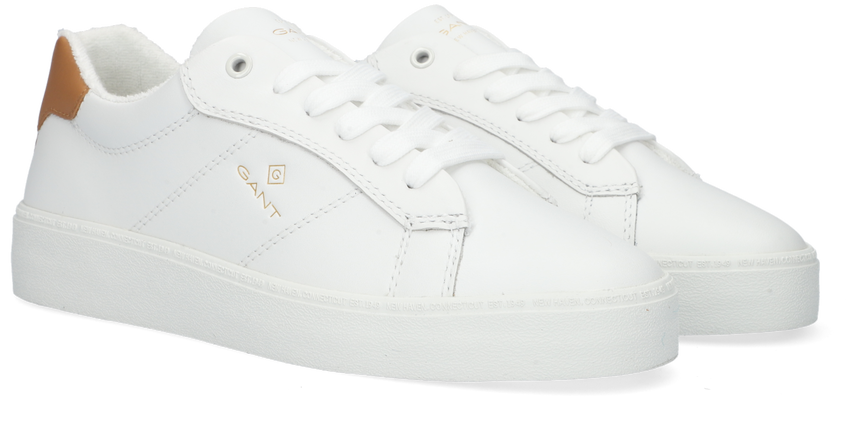 Witte GANT Lage sneakers LAGALILLY  - larger
