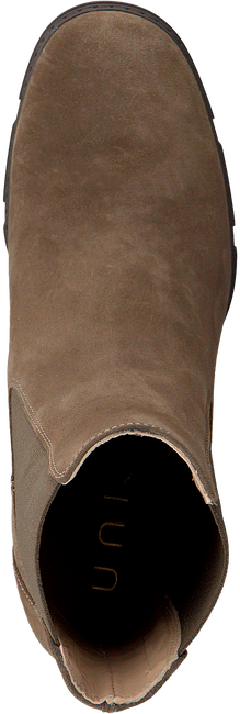 Bruine UNISA Enkellaarsjes KUBEL  - large