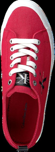 Rode CALVIN KLEIN Sneakers ZOLAH - large