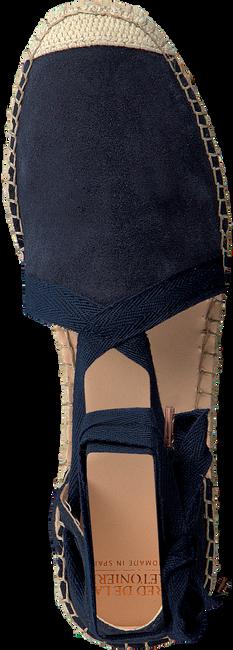 Blauwe FRED DE LA BRETONIERE Espadrilles 152010052  - large