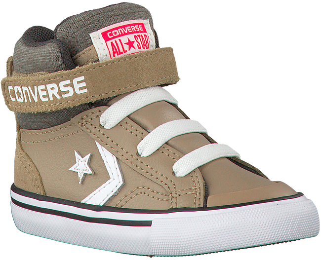 Beige CONVERSE Sneakers PRO BLAZE STRAP HI KIDS  - large