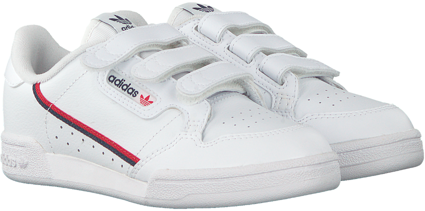 Witte ADIDAS Lage sneakers CONTINENTAL 80 CF C  - larger