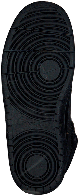 Zwarte NIKE Hoge sneaker COURT BOROUGH MID WINTER KIDS  - large