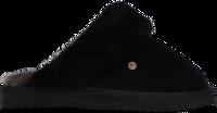 Zwarte WARMBAT Pantoffels FLURRY  - medium
