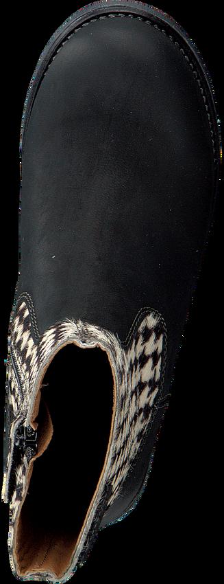 Zwarte OMODA Enkellaarsjes OM119671  - larger
