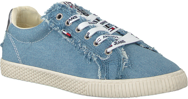 Blauwe TOMMY HILFIGER Sneakers TOMMY JEANS CASUAL DENIM SNEAK - large