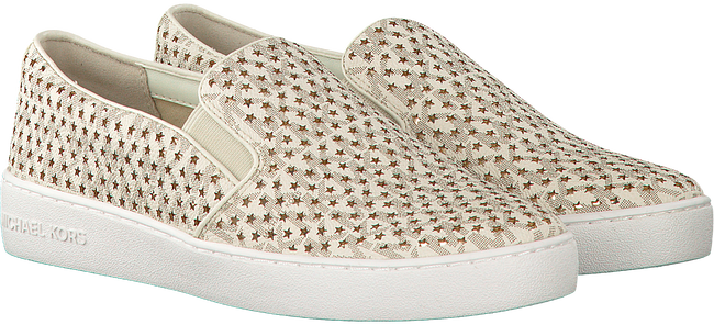 Witte MICHAEL KORS Slip-on sneakers  KEATON SLIP ON  - large
