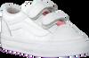 Witte VANS Sneakers TD OLD SKOOL V WHITE GIRA  - small