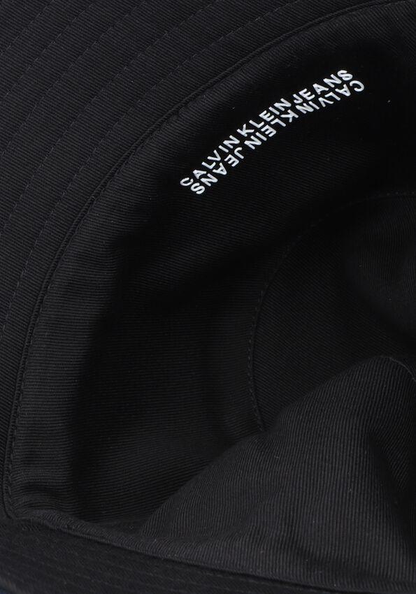 Zwarte CALVIN KLEIN Hoed COTTON REV BUCKET  - larger