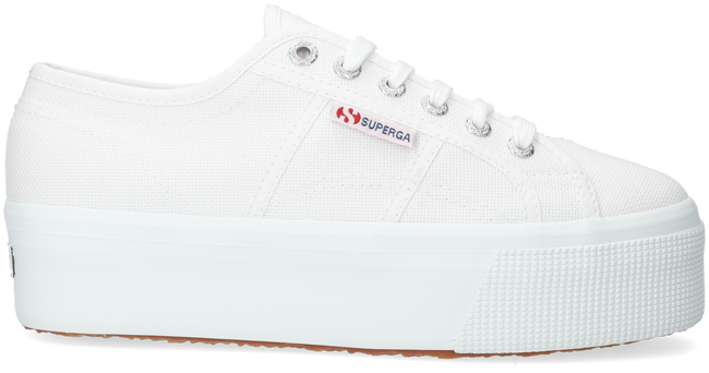 Witte SUPERGA Lage sneakers 2790 COTW LINE UP AND DOWN  - large