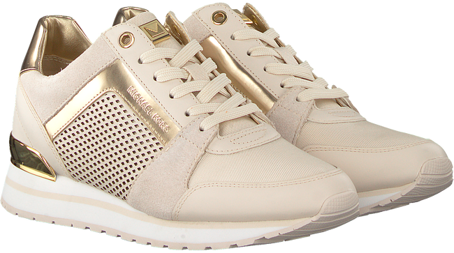 Beige MICHAEL KORS Sneakers BILLIE TRAINER  - large