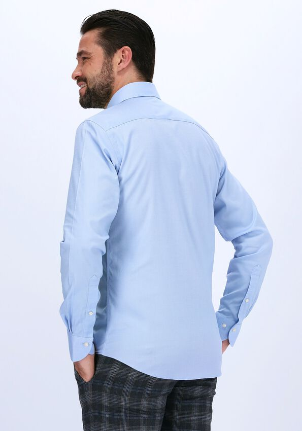 Lichtblauwe PROFUOMO Klassiek overhemd HUNDON  - larger