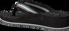 Zwarte TOMMY HILFIGER Slippers COMFORT MID BEACH SANDAL - small