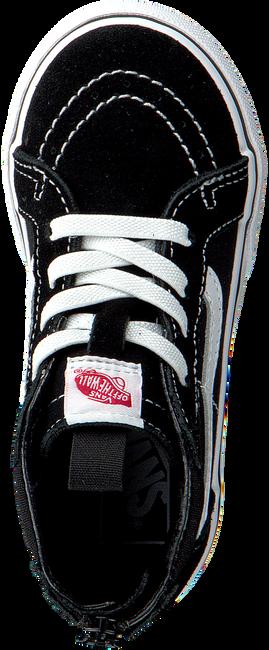 Zwarte VANS Sneakers SK8-HI ZIP TD - large