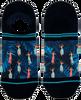 Blauwe XPOOOS Sokken HULA HULA INVISIBLE - small