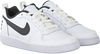 Witte NIKE Sneakers COURT BOROUGH LOW (GS)  - small