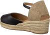 Zwarte UNISA Espadrilles CISCA - small