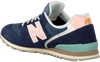 Blauwe NEW BALANCE Lage sneakers WL996  - small