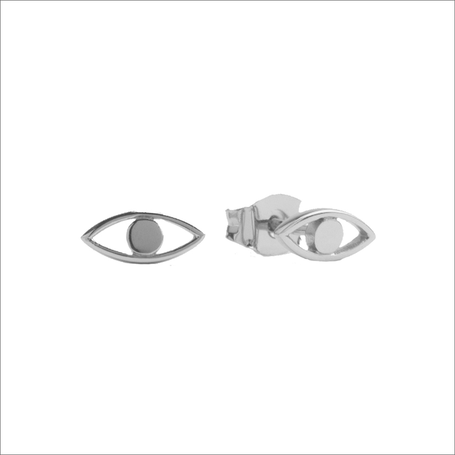 Zilveren ATLITW STUDIO Oorbellen PARADE EARRINGS EYE - large