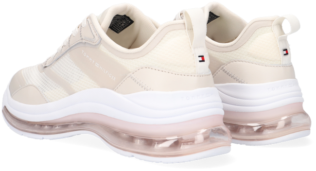 Beige TOMMY HILFIGER Lage sneakers CITY AIR RUNNER MIX  - large