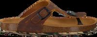Cognac DEVELAB Slippers 48165 - medium