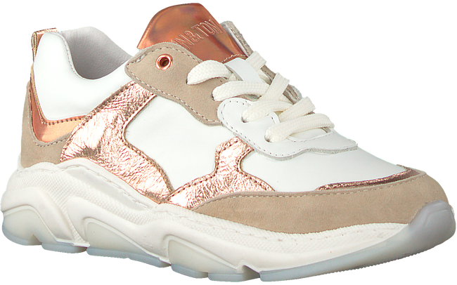 Witte TON & TON Lage sneakers TATUM  - large