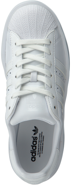 Witte ADIDAS Sneakers SUPERSTAR BOLD W  - large