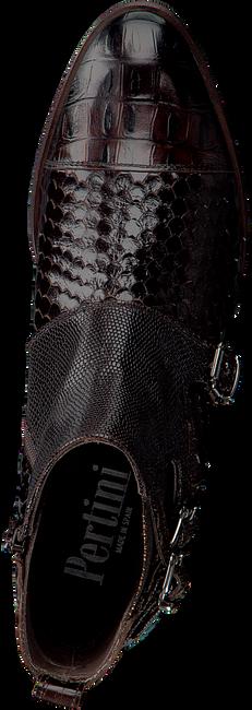 Bruine PERTINI Enkellaarsjes 16154 - large