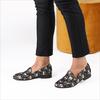 Zwarte FABIENNE CHAPOT Loafers HAYLEY LOAFER JAQUARD - small