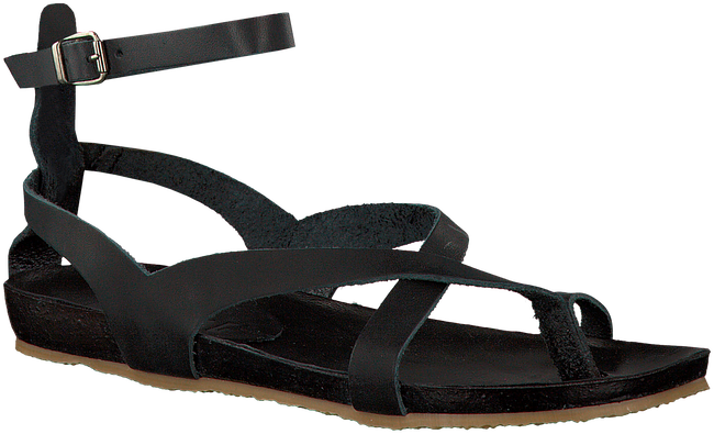 Zwarte RED RAG Sandalen 79128 - large