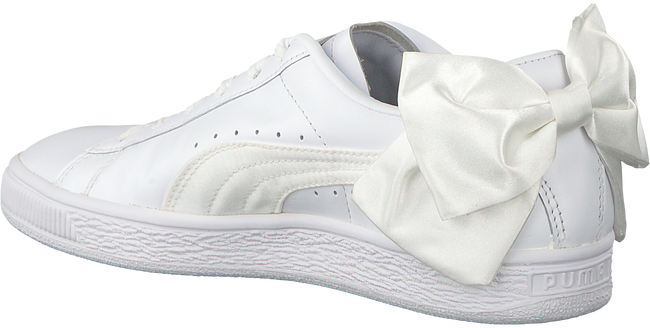 witte PUMA Sneakers BASKET BOW W  - large