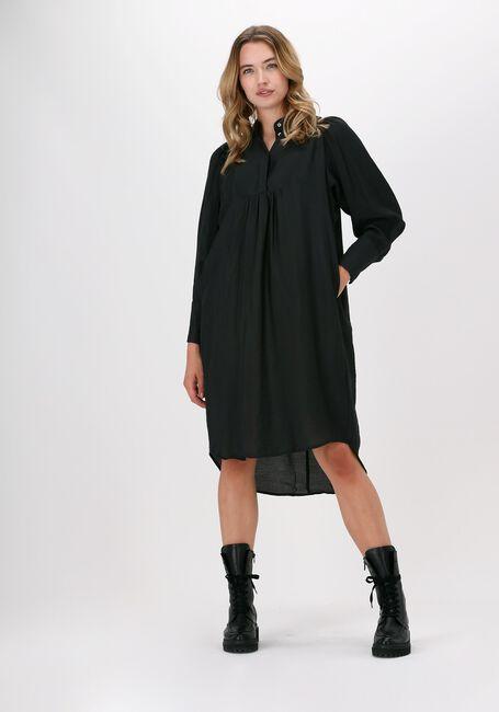 Zwarte CO'COUTURE Midi jurk CALLUM VOLUME DRESS  - large