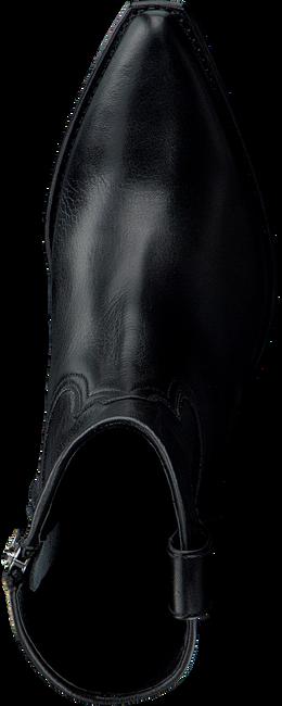 Zwarte SENDRA Enkellaarsjes 16578  - large