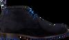 Blauwe FLORIS VAN BOMMEL Veterschoenen 10203  - small