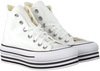 Witte CONVERSE Hoge sneaker CHUCK TAYLOR ALL STAR PLATFORM LAYER HI - small