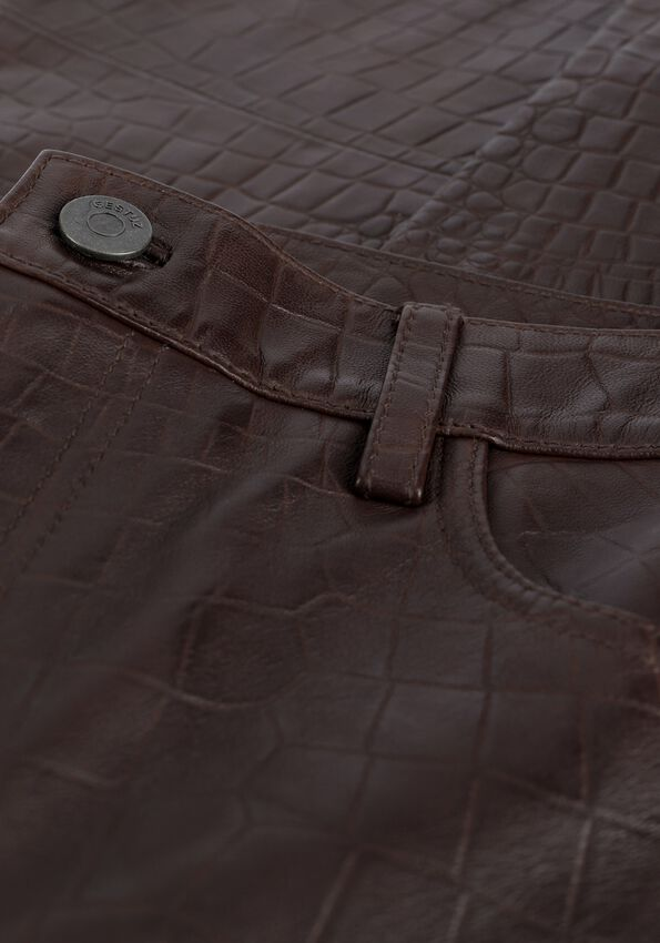 Bruine GESTUZ Pantalon SALLY GZ HW PANTS - larger