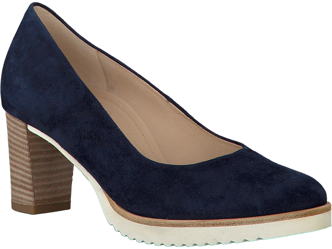 Blauwe GABOR Pumps 010  - large